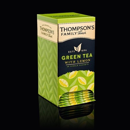 Thompson's Green Tea with Lemon
