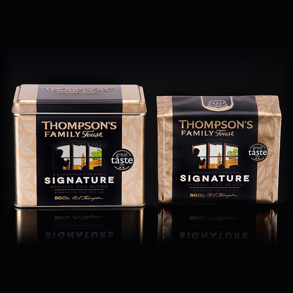 Thompson's Signature Tea Caddy