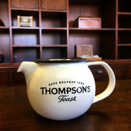 Thompson's Porcelain Teapot